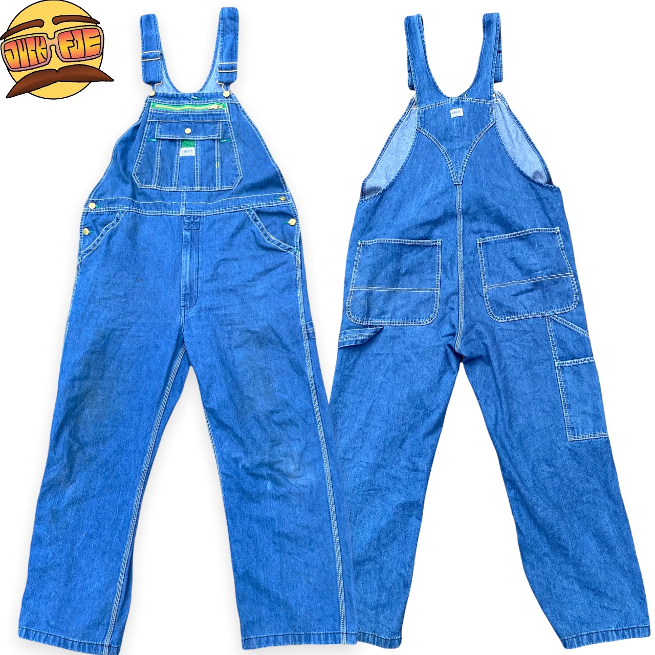 Product Image 1 - Vintage Denim Overalls made by