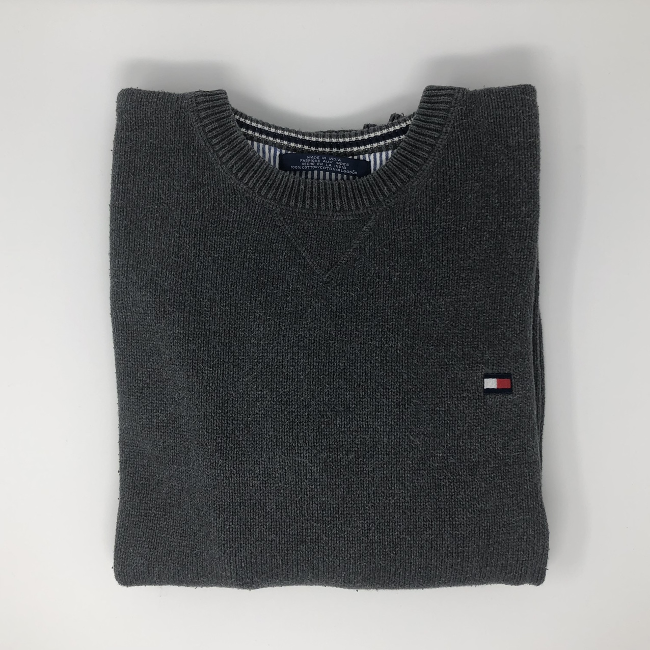 Product Image 1 - Tommy Hilfiger Gray Crew Neck
