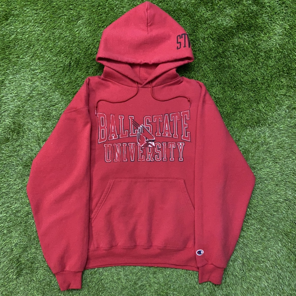 Product Image 1 - Champion Ball State University Hoodie! Condition: