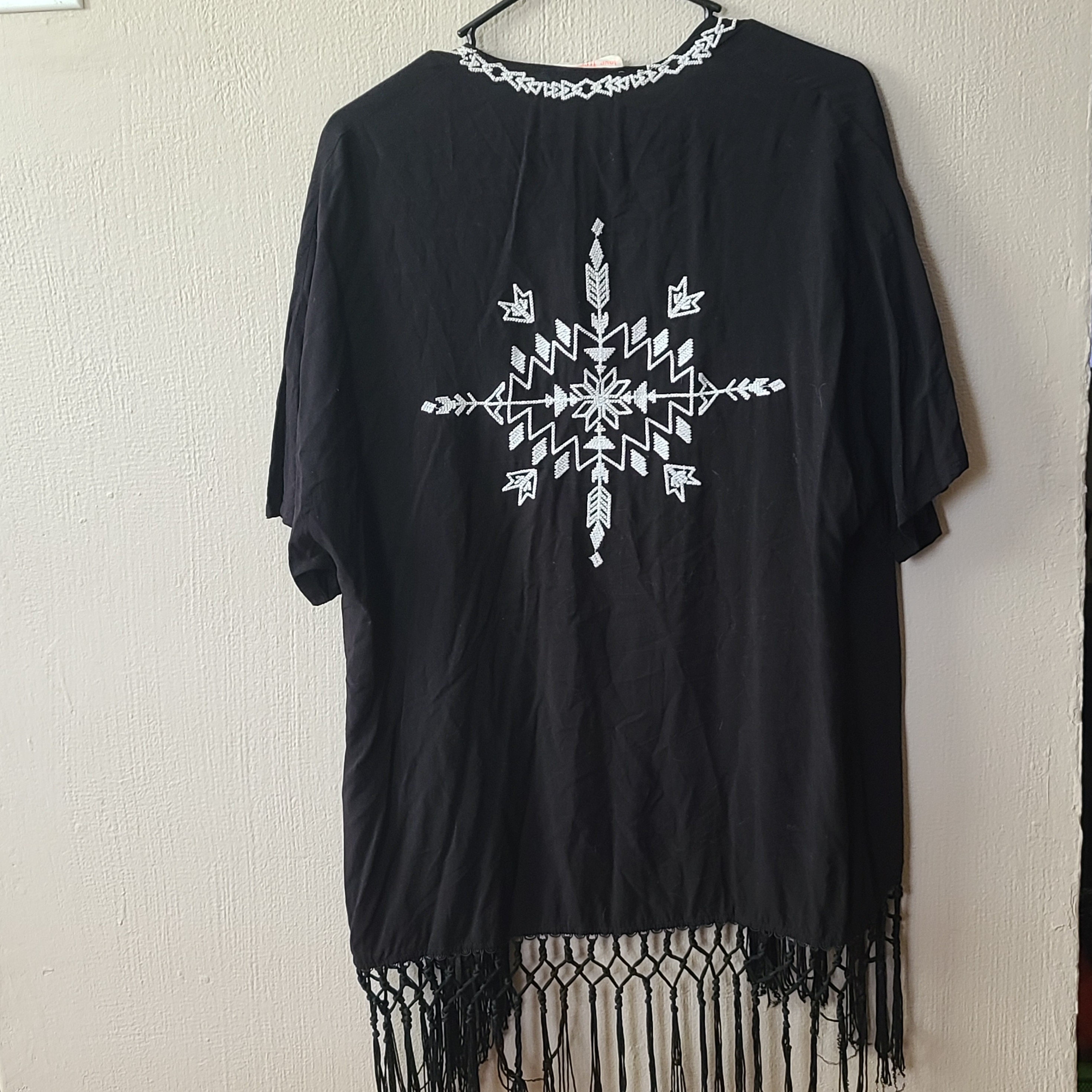 Product Image 1 - Black and white patterned short