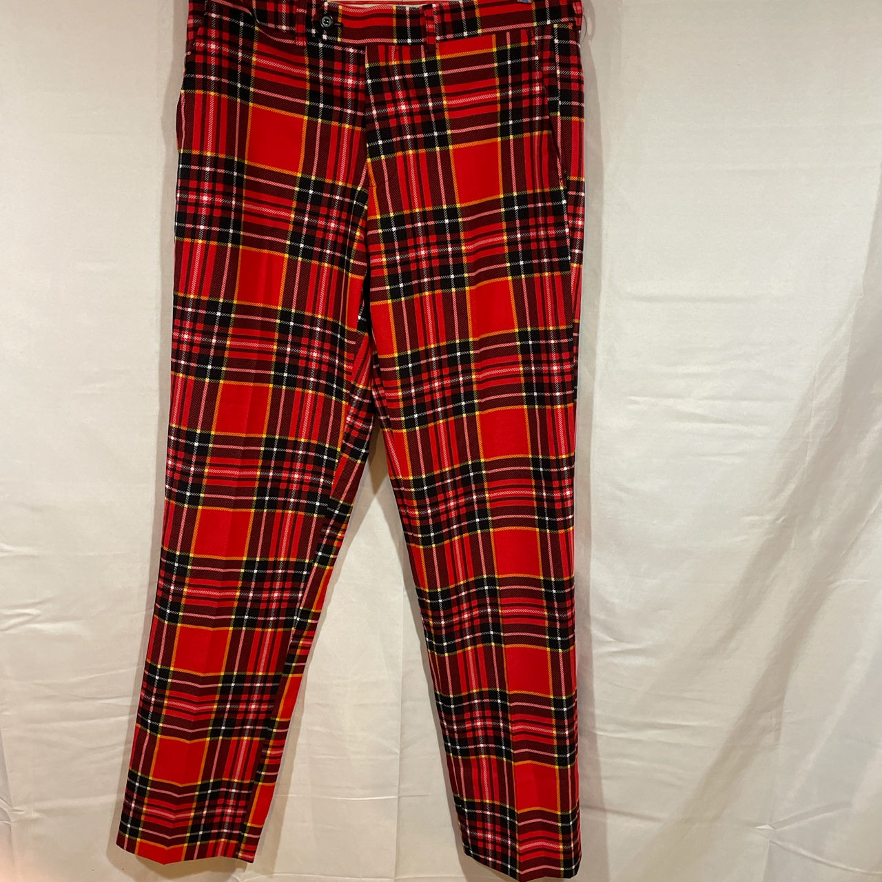 Product Image 1 - Opposuits red plaid pants Size us40 Waist