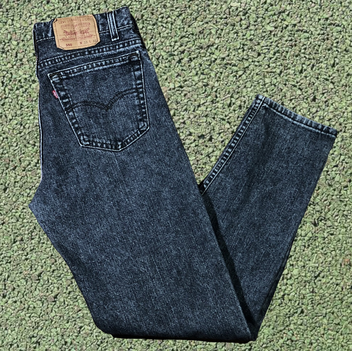 Product Image 1 - Vintage 90s Levi's 550 Relax