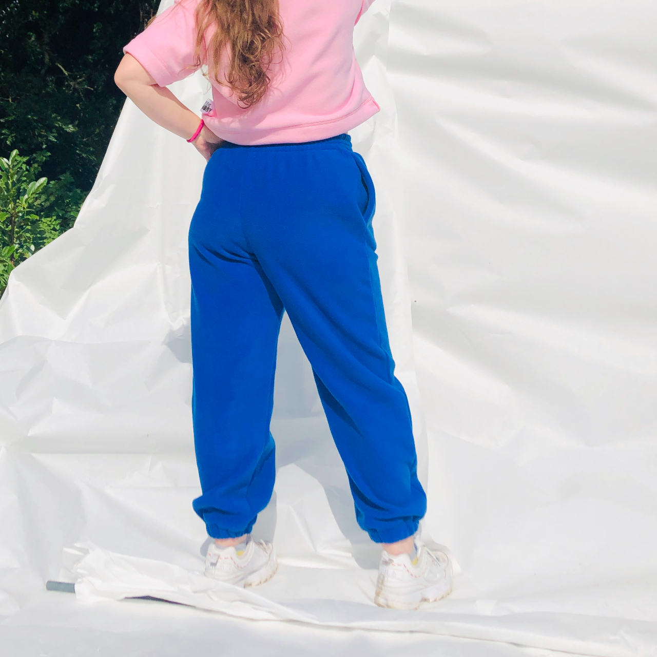 Product Image 1 - COBALT BLUE FLEECE JOGGERS from