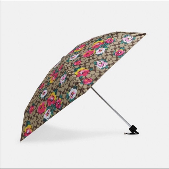 Product Image 1 - Coach Compact floral Umbrella with