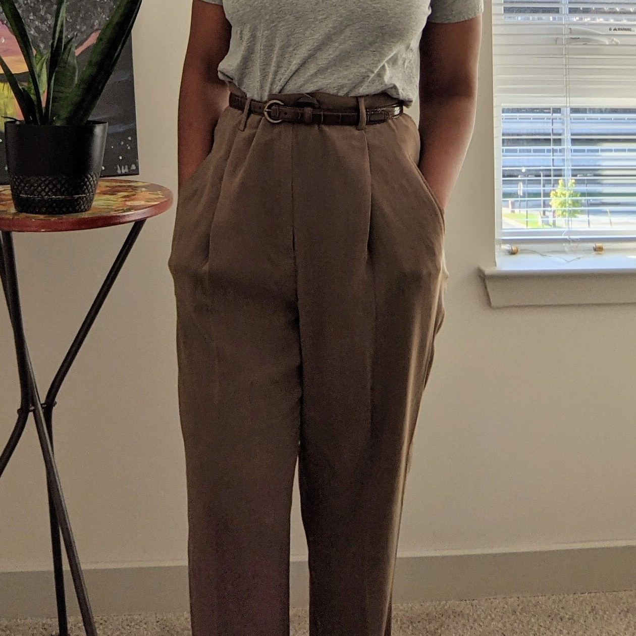 Product Image 1 - Vintage, lightweight Alex Garfield trousers