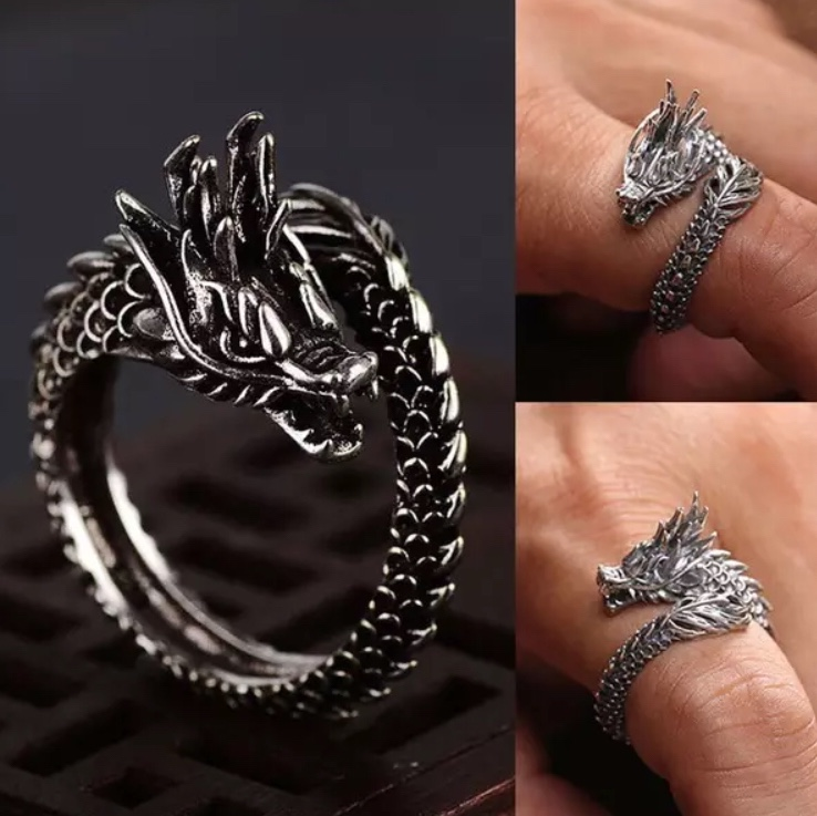Product Image 1 - Dragon World Ring Adjustable  Ring for