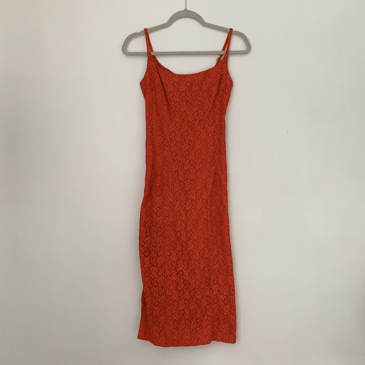 Product Image 1 - Vintage Red Lace Dress  Handmade red