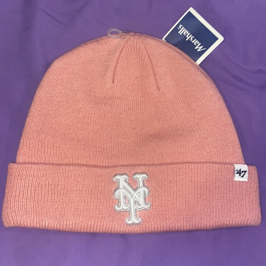 Product Image 1 - Pink NY Mets Beanie 🧢