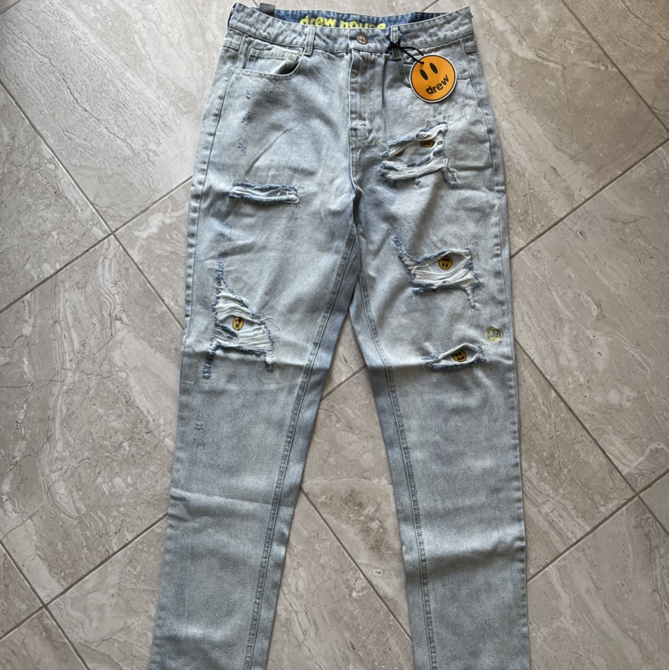 Product Image 1 - DREW HOUSE DISTRESSED DENIM JEANS