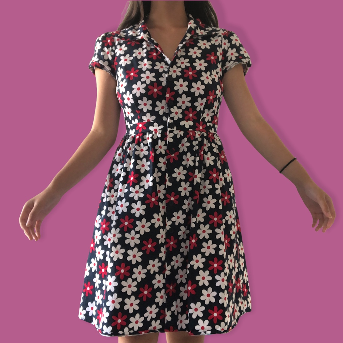 Product Image 1 - housewife collared midi dress!!!! the