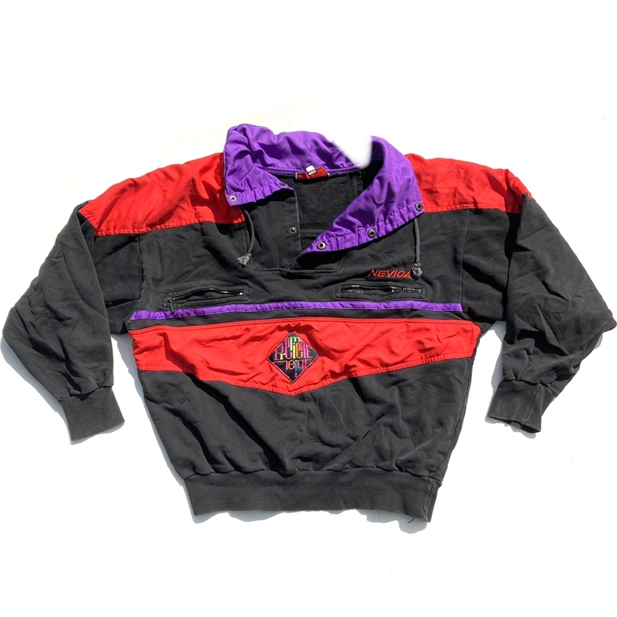 Product Image 1 - 90s Nevica colorblock pullover sweatshirt