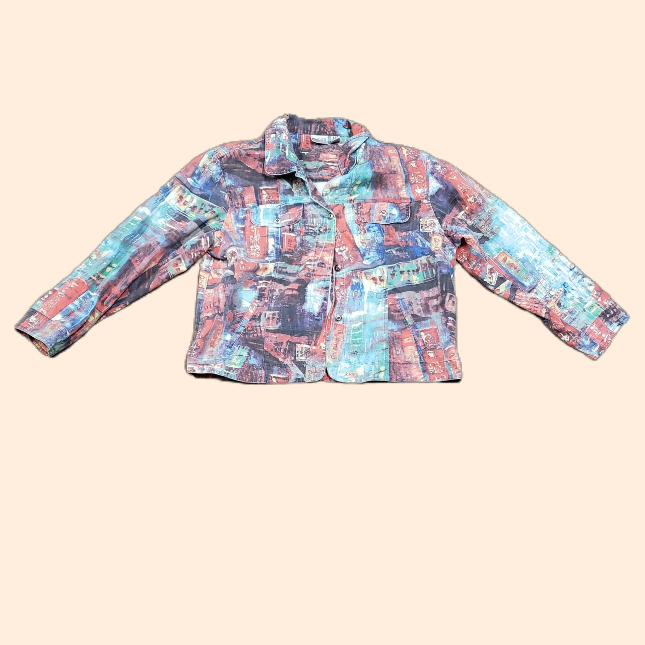 Product Image 1 - Jean Jacket With Japanese Design