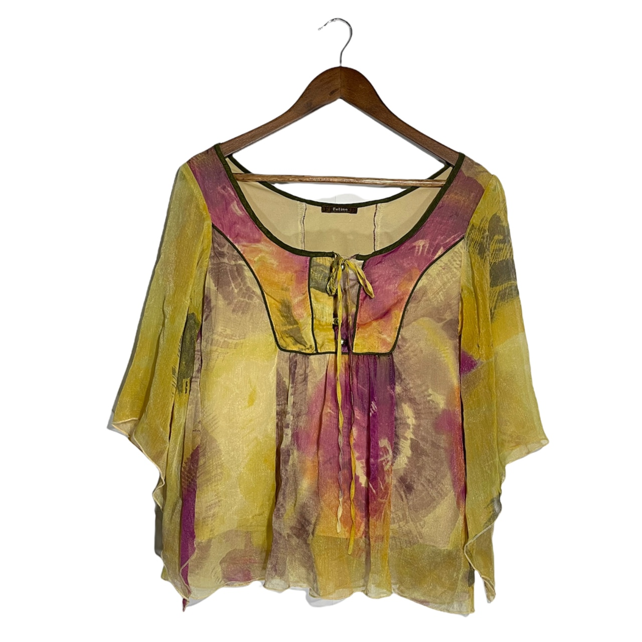Product Image 1 - VINTAGE 90S YELLOW AND PINK
