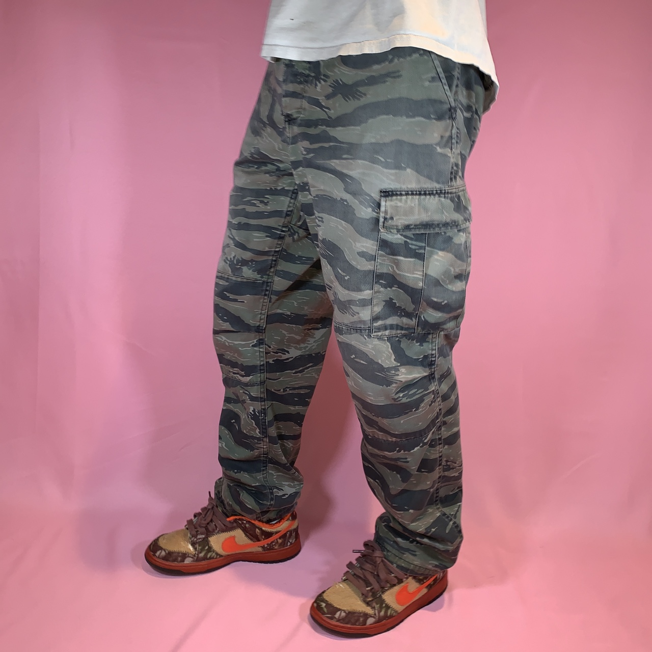 Product Image 1 - Camo military cargo pants  Perfect