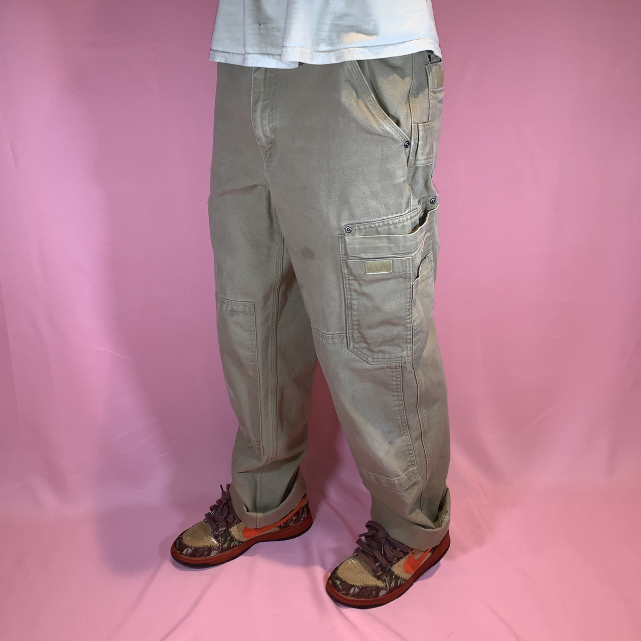 Product Image 1 - Duluth double knee cargo pants Small