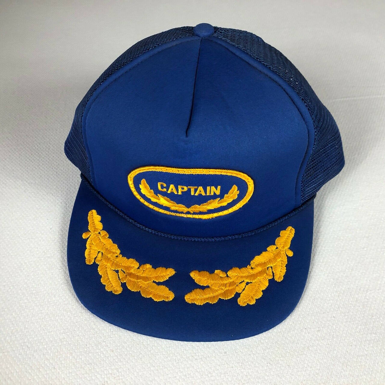Product Image 1 - Captain Snapback Hat Vintage Rope