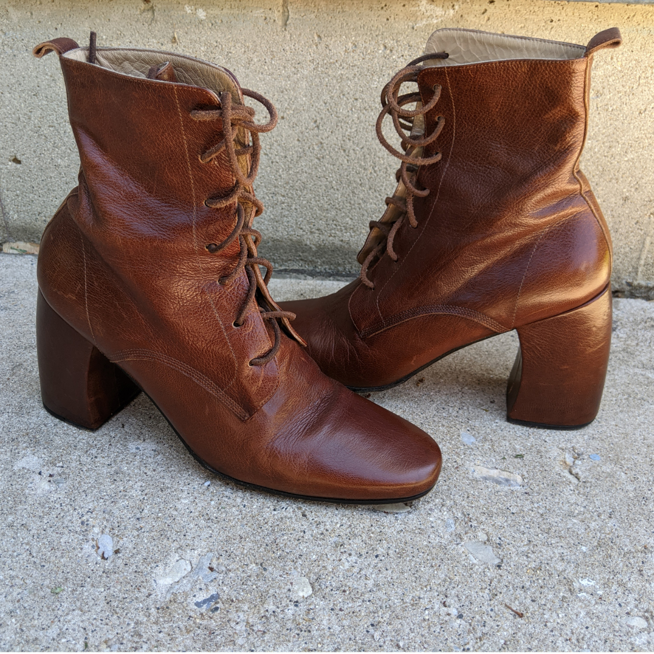 Product Image 1 - Ann Demeulemeester Brown Lace Up