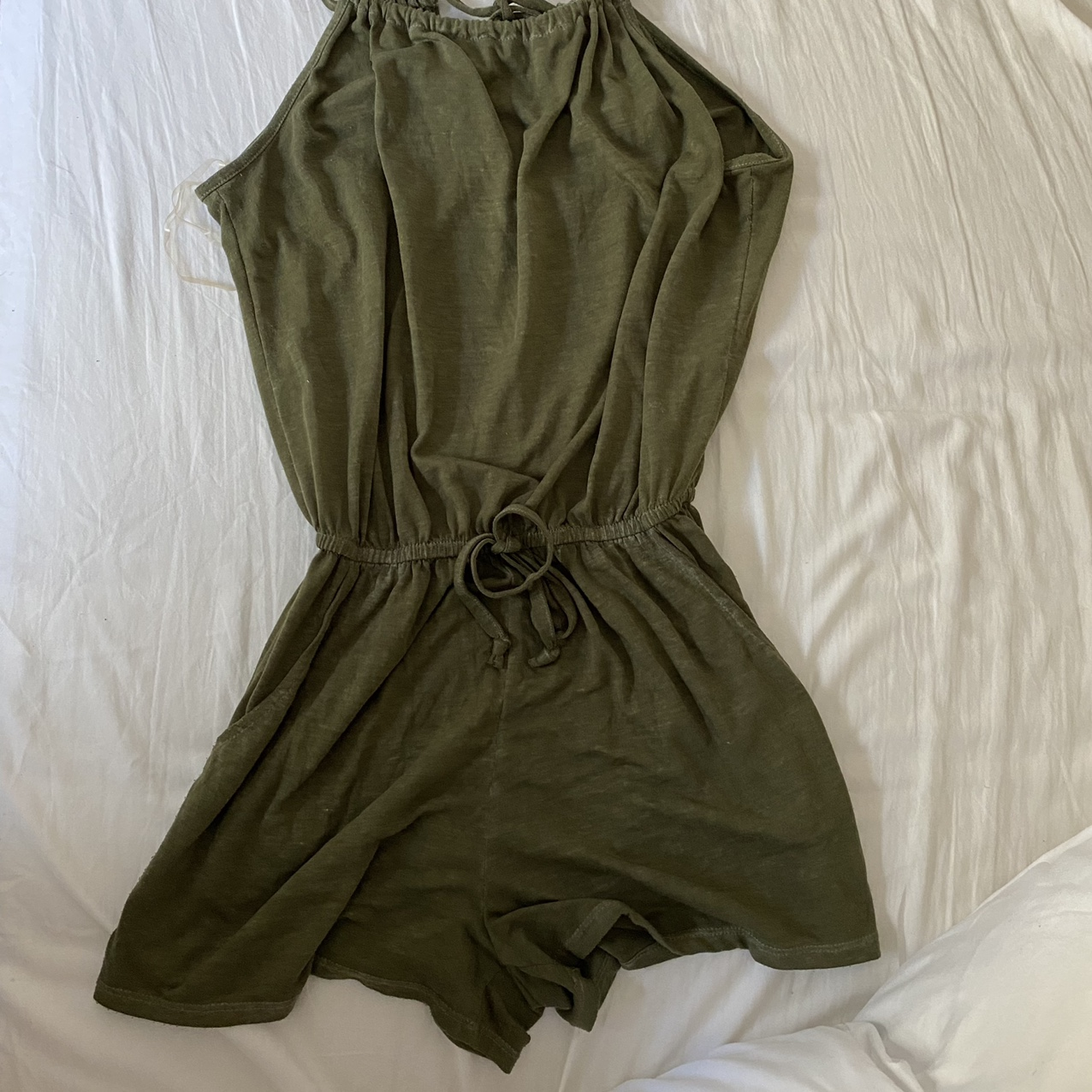 Product Image 1 - olive green insanely comfy romper.