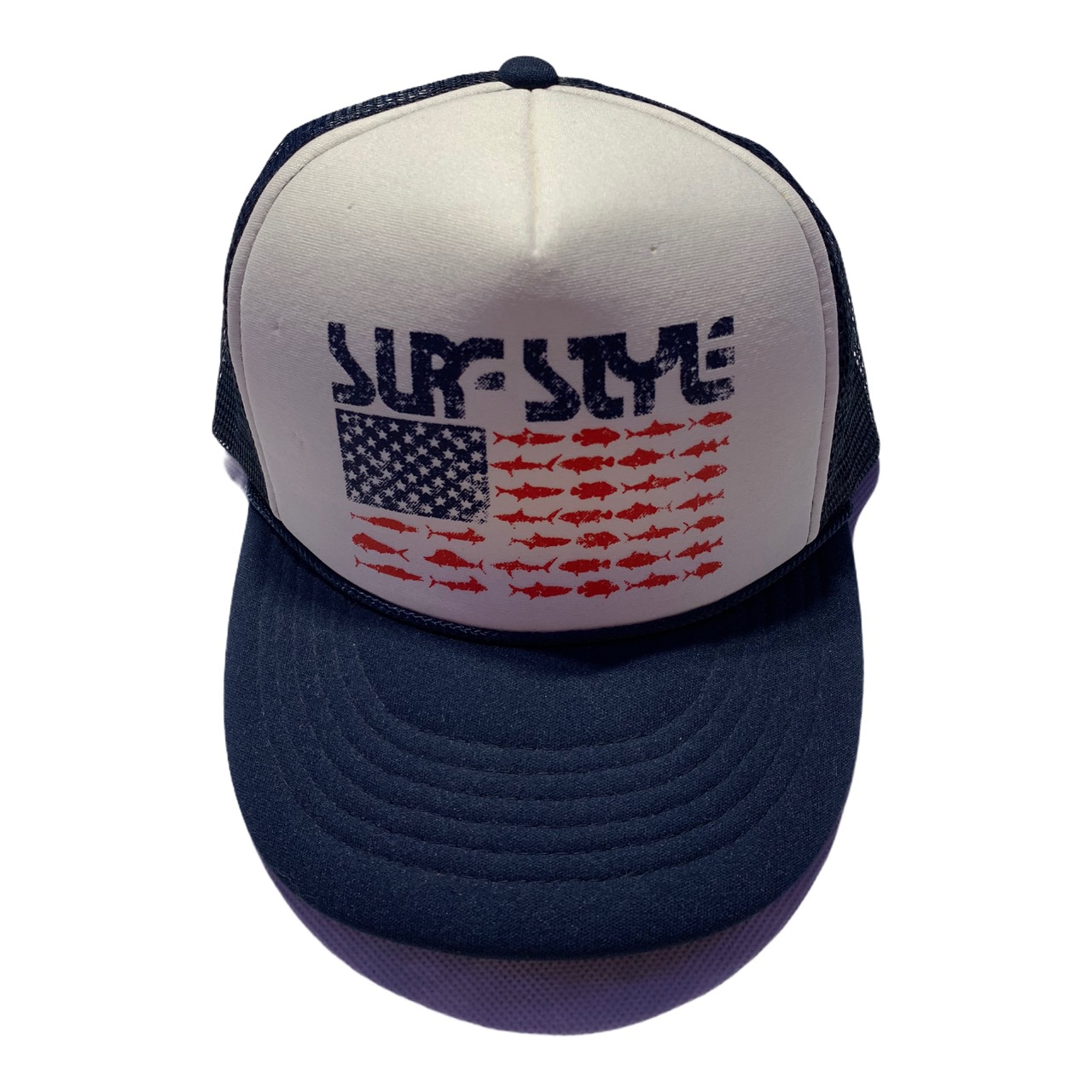 Product Image 1 - Vintage White and Navy Surf