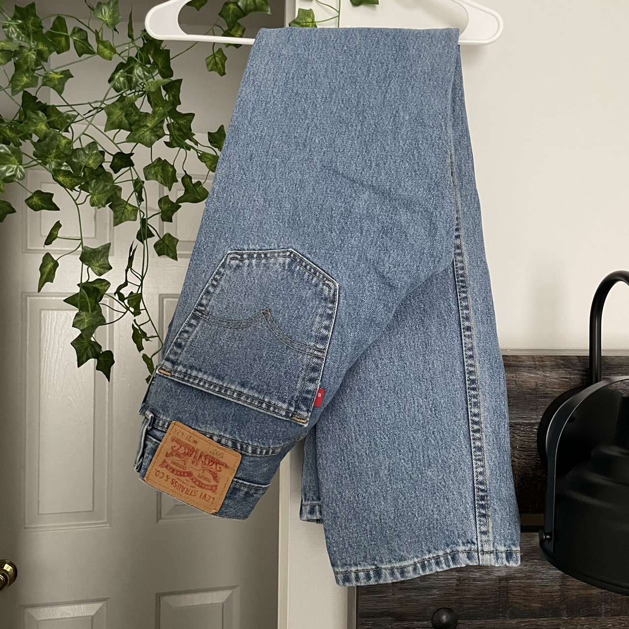 Product Image 1 - 505 Levi's Jeans. Nice blue