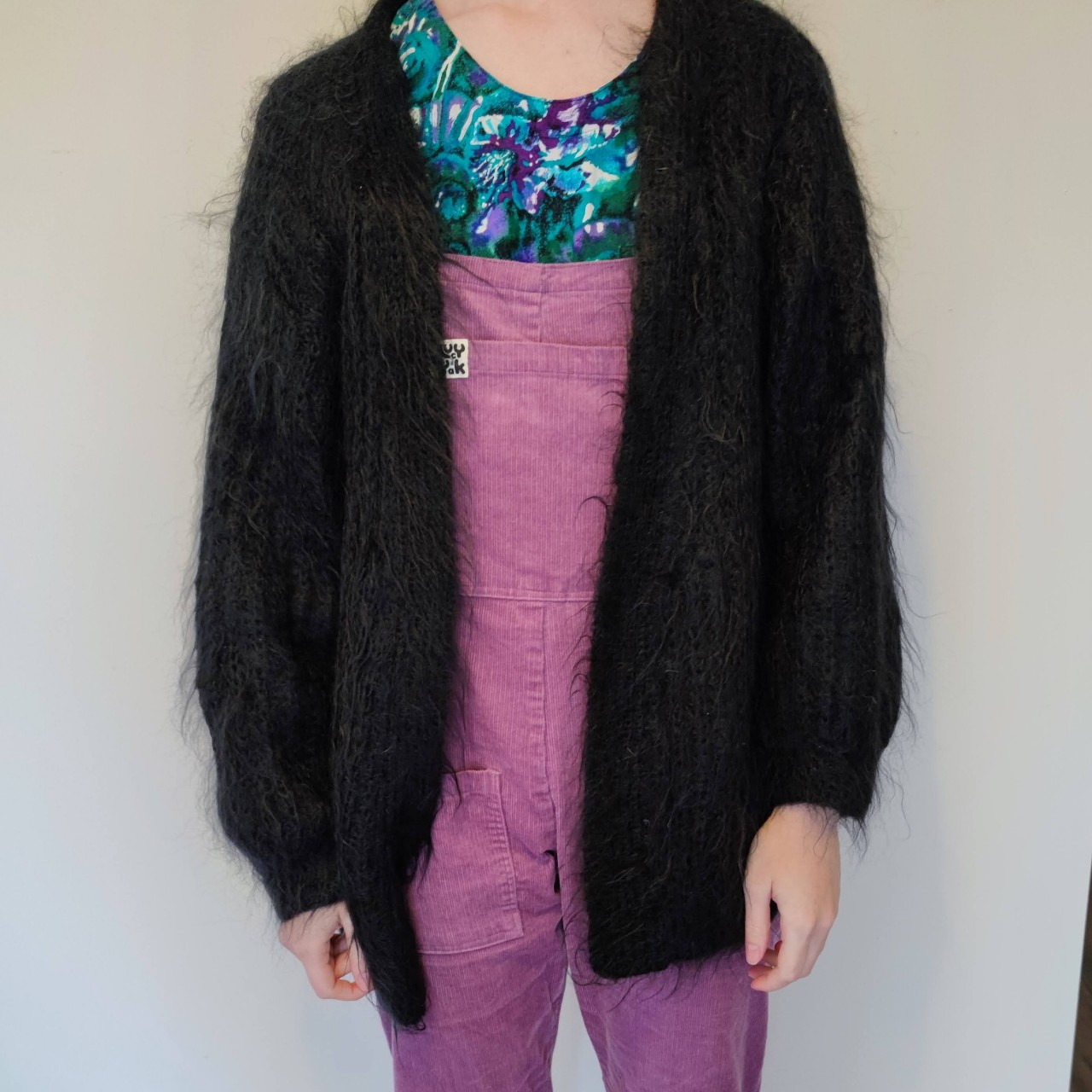 Product Image 1 - Vintage mohair knitted cardigan Worn oversized